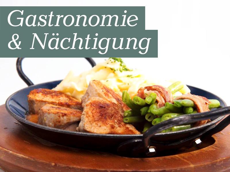 Gastronomie & Nächtigung