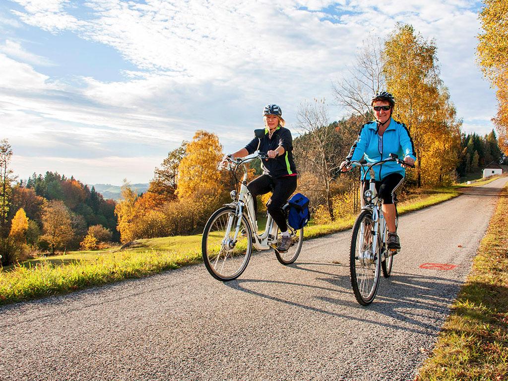 Radfahren im Naturpark Mühlviertel_Foto_copyright Heinz Madlmair