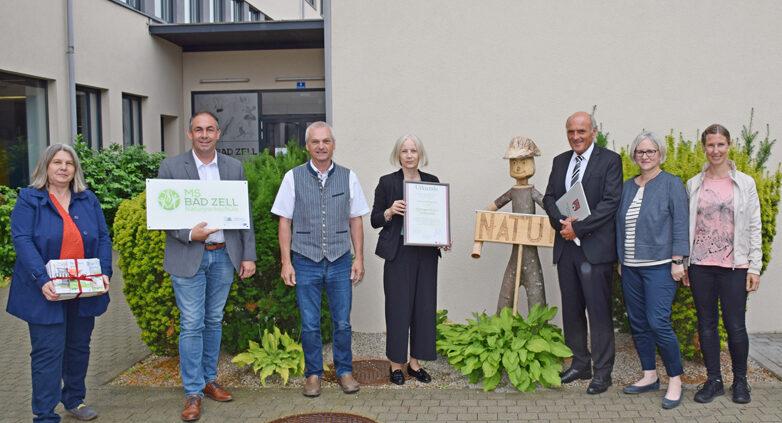 Zertifizierung Naturpark_Mittelschule_Bad Zell